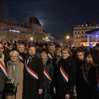 La République rassemblée contre lantisémitisme