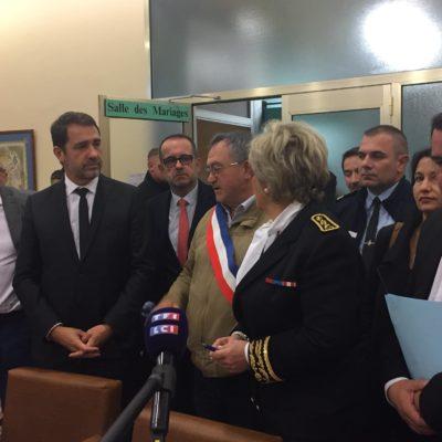Le Ministre de lIntérieur sest rendu au Teil