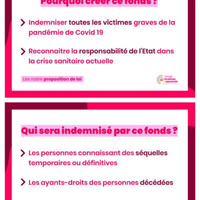 Proposition de loi pour créer un fonds dindemnisation pour les victimes du Covid-19