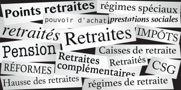 Pouvoir dachat des retraités de lartisanat et du commerce de proximité