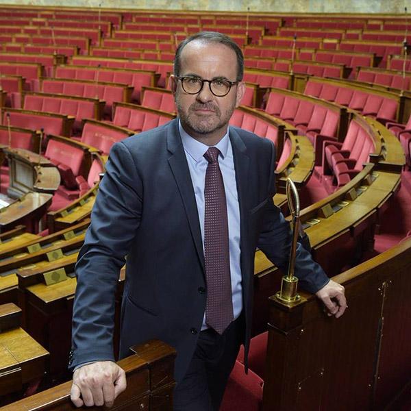 Hervé Saulignac, député de l'Ardèche
