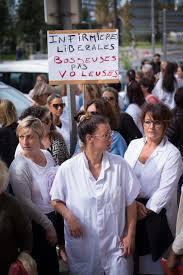 Soutien aux mouvements de protestations des infirmiers libéraux