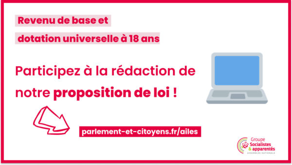« Minimum jeunesse » : participez à la rédaction de la proposition de loi AILE(S)